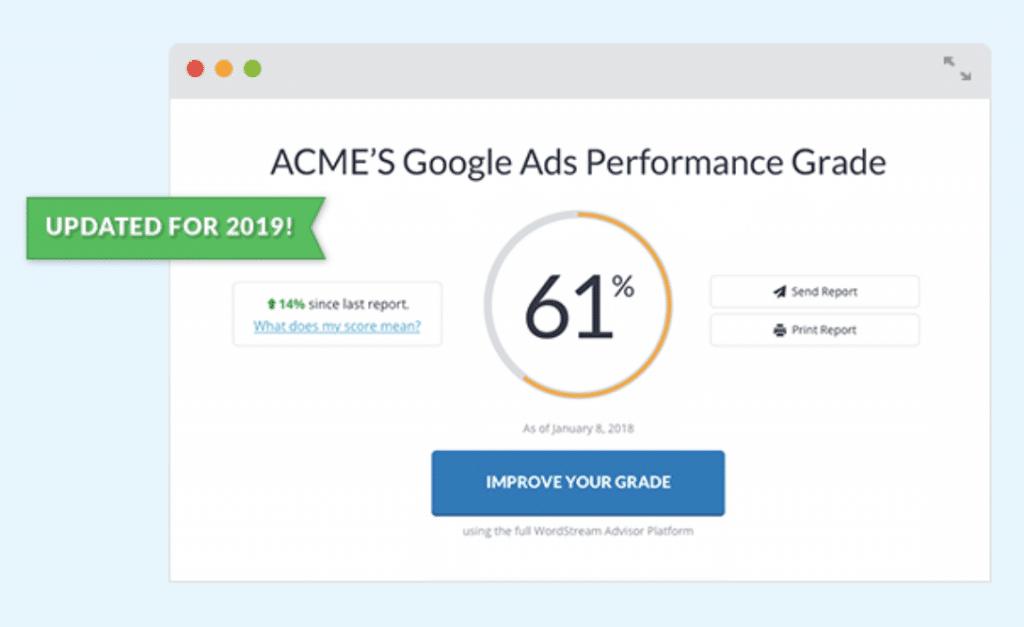 Google Ads Grader, Ads expert Stevenage Hertfordshire